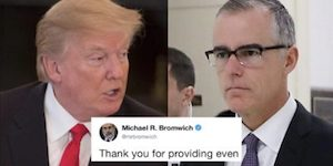 Trump and McCabe